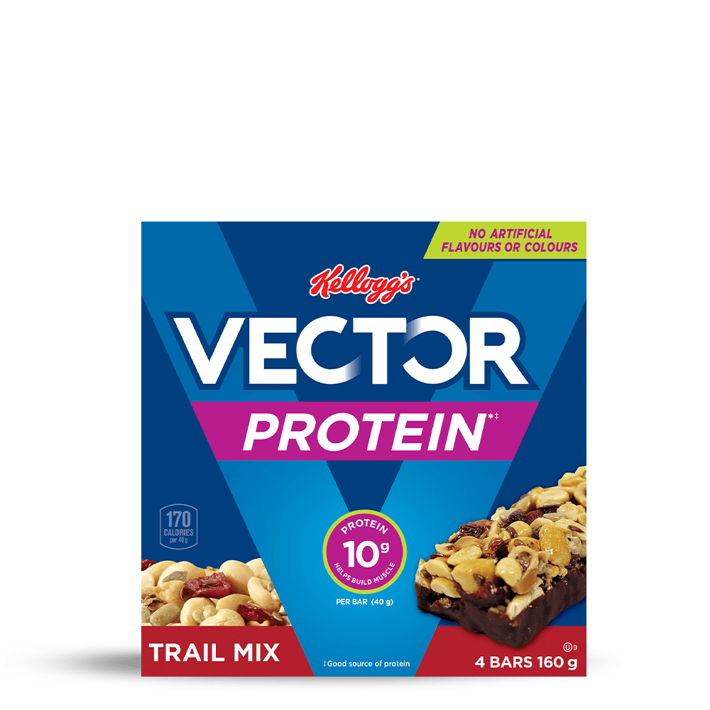 Vector Protein* Chewy Bars trail mix
