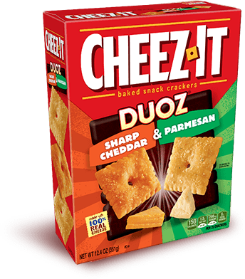 Cheez-It Duoz® Sharp Cheddar & Parmesan
