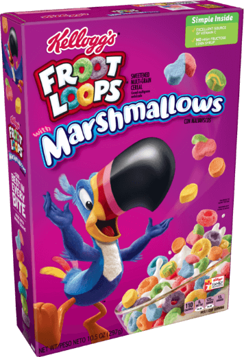 Kellogg's® Froot Loops® with Marshmallows