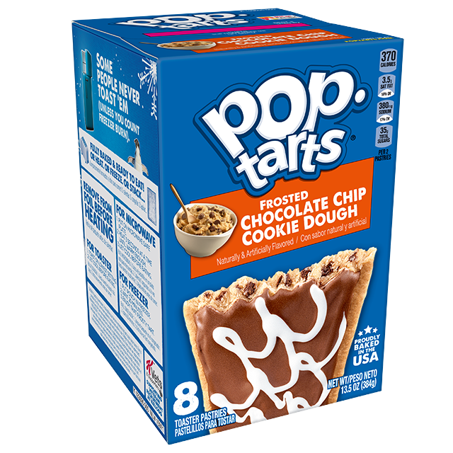 Pop-Tarts® Chocolate Chip Cookie Dough