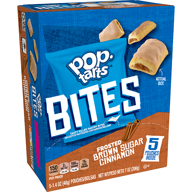 Pop-Tarts® Bites Frosted Brown Sugar Cinnamon