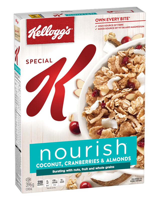 Special K* Nourish Coconut, Cranberry & Almond Cereal